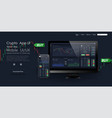 trade ui great design for any purposes trade vector image vector image