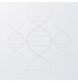 a DNA vector image vector image