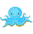 Cute Octopus vector image