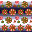 Ethnic Christmas seamless pattern vector image vector image