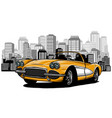 flat cartoon style of vector image vector image
