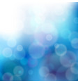 lights on blue background - graphic vector image vector image