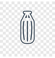 punching bag concept linear icon isolated on vector image