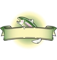 Rainbow Trout vector image vector image