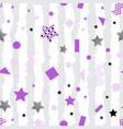 ultra violet stars background vector image