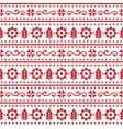 christmas scandinavain folk art seamless pa vector image vector image
