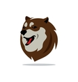 Husky Dog Cartoon vector image vector image