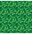 pattern clover vector image