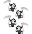 Reaper Giving A Thumbs Up vector image vector image