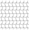 seamless wavy pattern - geometric asian vector image