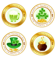 St patricks day icons vector | Price: 1 Credit (USD $1)