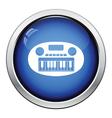 Synthesizer toy icon