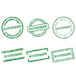 bookmark stamps vector image