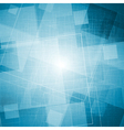 Bright blue grunge texture vector image
