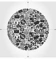 Business a sphere vector image vector image