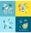 Set of media composition vector image vector image