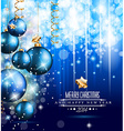 2014 Christmas and New Yaer Colorful Background vector image vector image