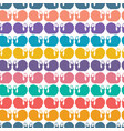 abstract childish snail cut out shapes vector image vector image