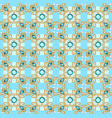background seamless with pattern and gems vector image