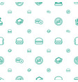 hamburger icons pattern seamless white background vector image vector image