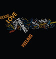 live like a lover text background word cloud vector image vector image