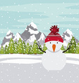 Merry Chirstmas design vector image