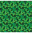 pattern clover shadow vector image vector image