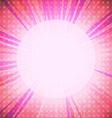 pink light background vector image