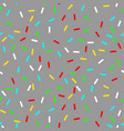 seamless background with grey donut glaze vector image vector image