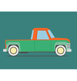 Vintage car Isolated vector image vector image