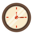 clock time school icon vector image