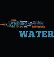 end your hard water nightmares with a water vector image vector image