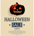Halloween design vector image vector image