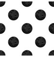 mercury icon in black style isolated on white vector image vector image