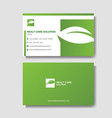 modern business card layout background template vector image