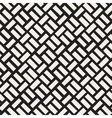 Seamless Black And White Diagonal vector image
