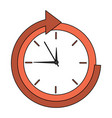 time icon image vector image vector image