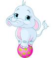 Circus Elephant vector image