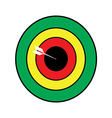 blank target sport for shooting competition vector image