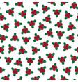 christmas seamless pattern - festive design vector image