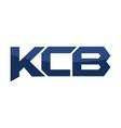 letter kcb modern vector image vector image