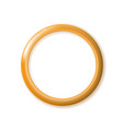 one ring lies golden wedding gold with blending vector image vector image