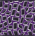 realistic smartphone background pattern vector image vector image