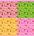 wine seamless patterns vector image