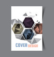 cover design template2 vector image vector image
