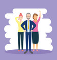 diversity man and woman vector image vector image