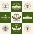 labels badges and logos set beer festival