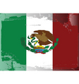 mexico national flag vector image