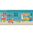 Thailand Street Food vector image vector image
