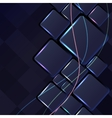Abstract backgrounds with lights lines vector image